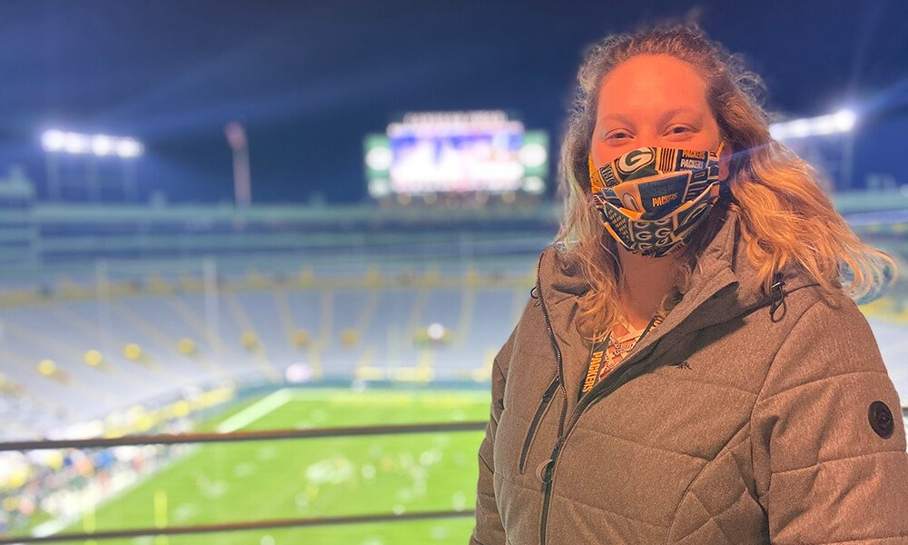Concordia alumna finds perfect fit at Lambeau Field