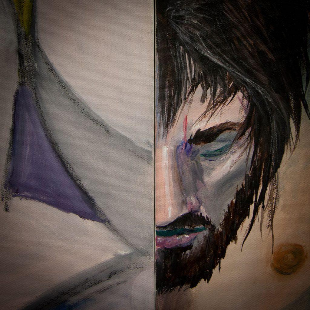 Brad Alles Painting Detail