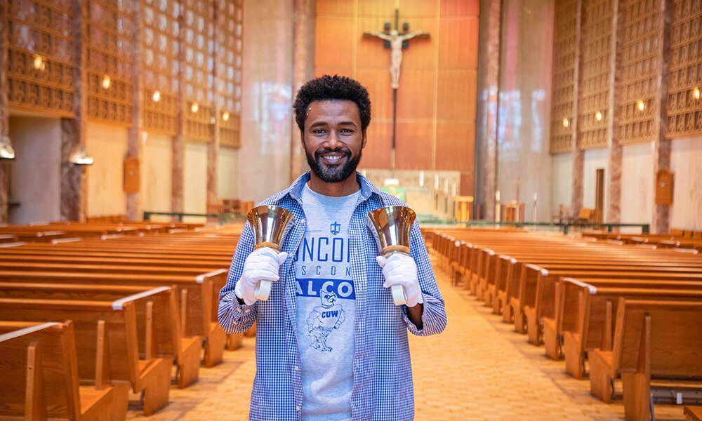CUW student bringing liturgical music to largest Lutheran population in the world