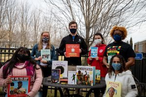 Concordia clubs come together to provide diverse books for area schools