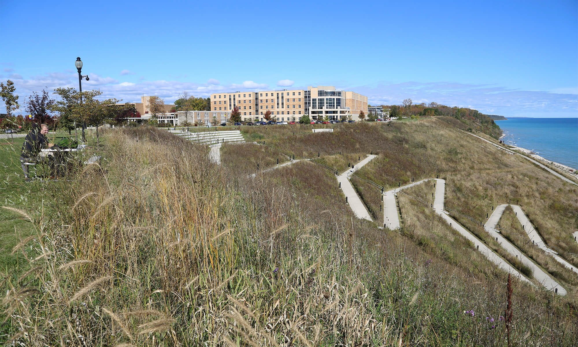 A campus shot of Concordia University Wisconsin