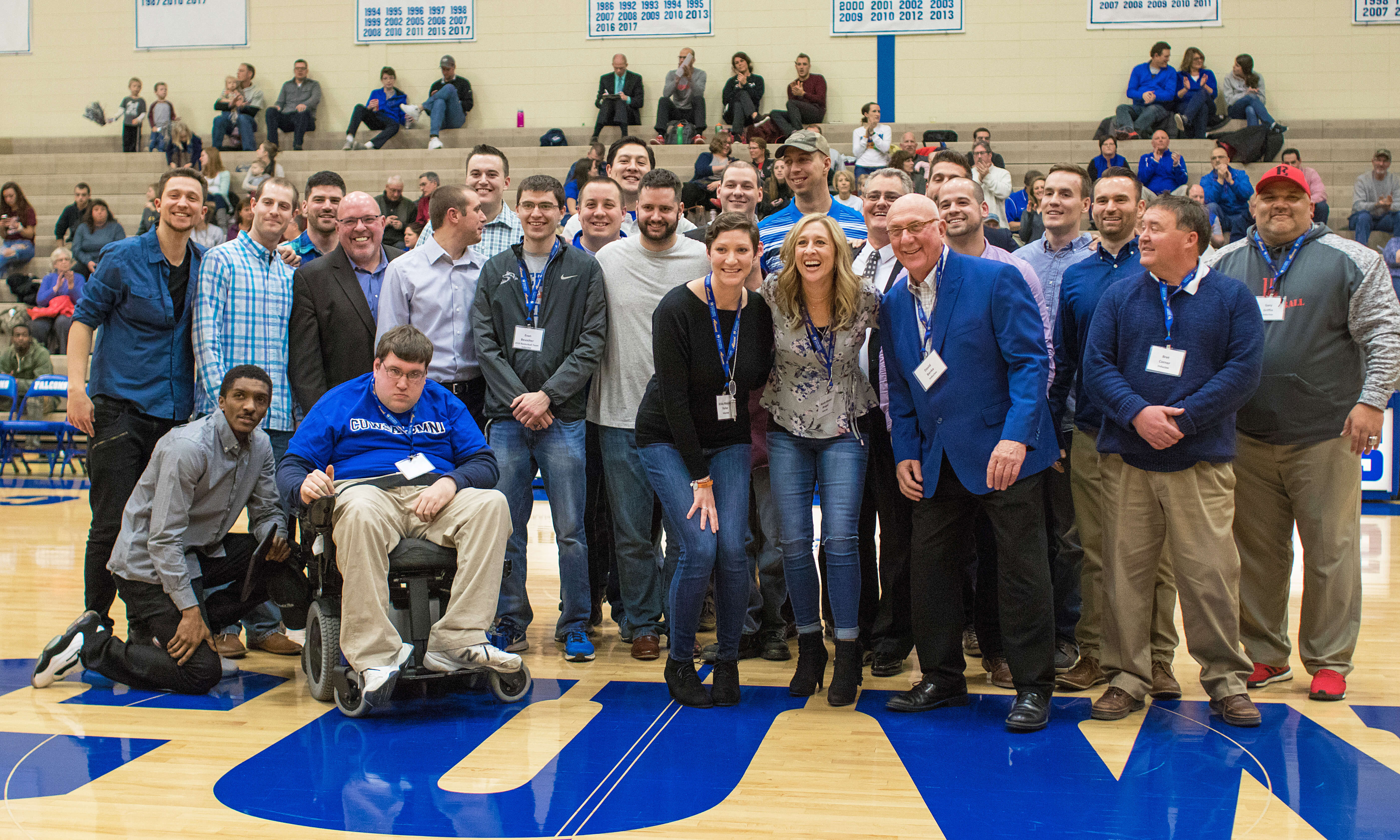 The 2017 Hall of Fame inductees were introduced Friday night during CIT.