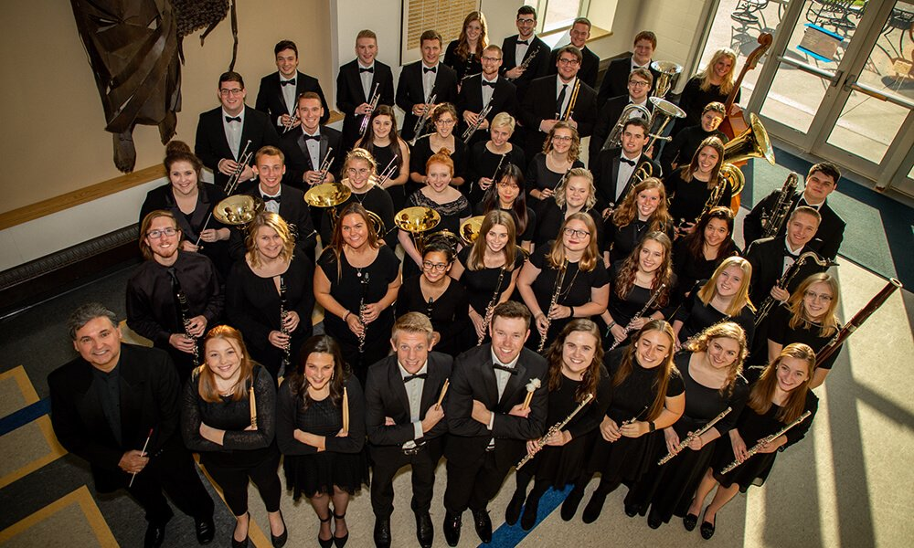 Concordia's Symphonic Wind Ensemble is Florida-bound this January