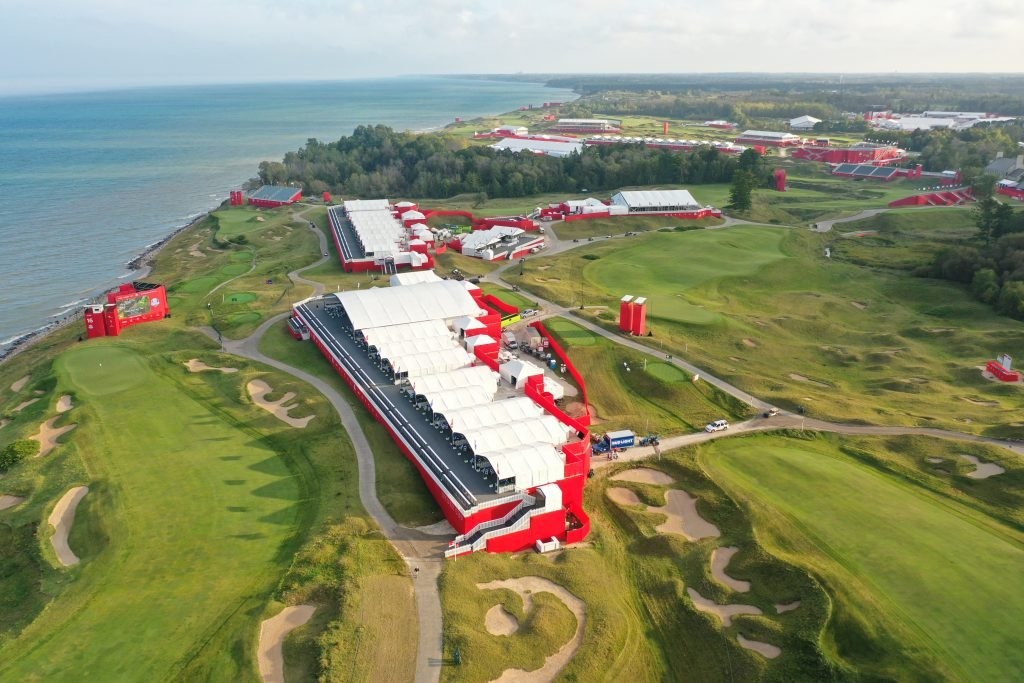 Ryder Cup Whistling Straits Aerial