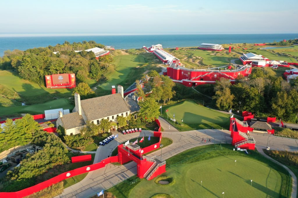 Whistling Straits Ryder Cup Aerial Photo