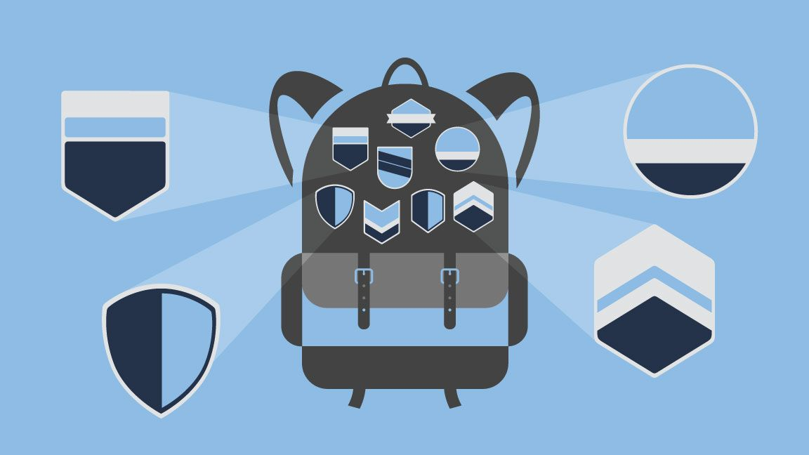 Digital badges in Mozilla backpack
