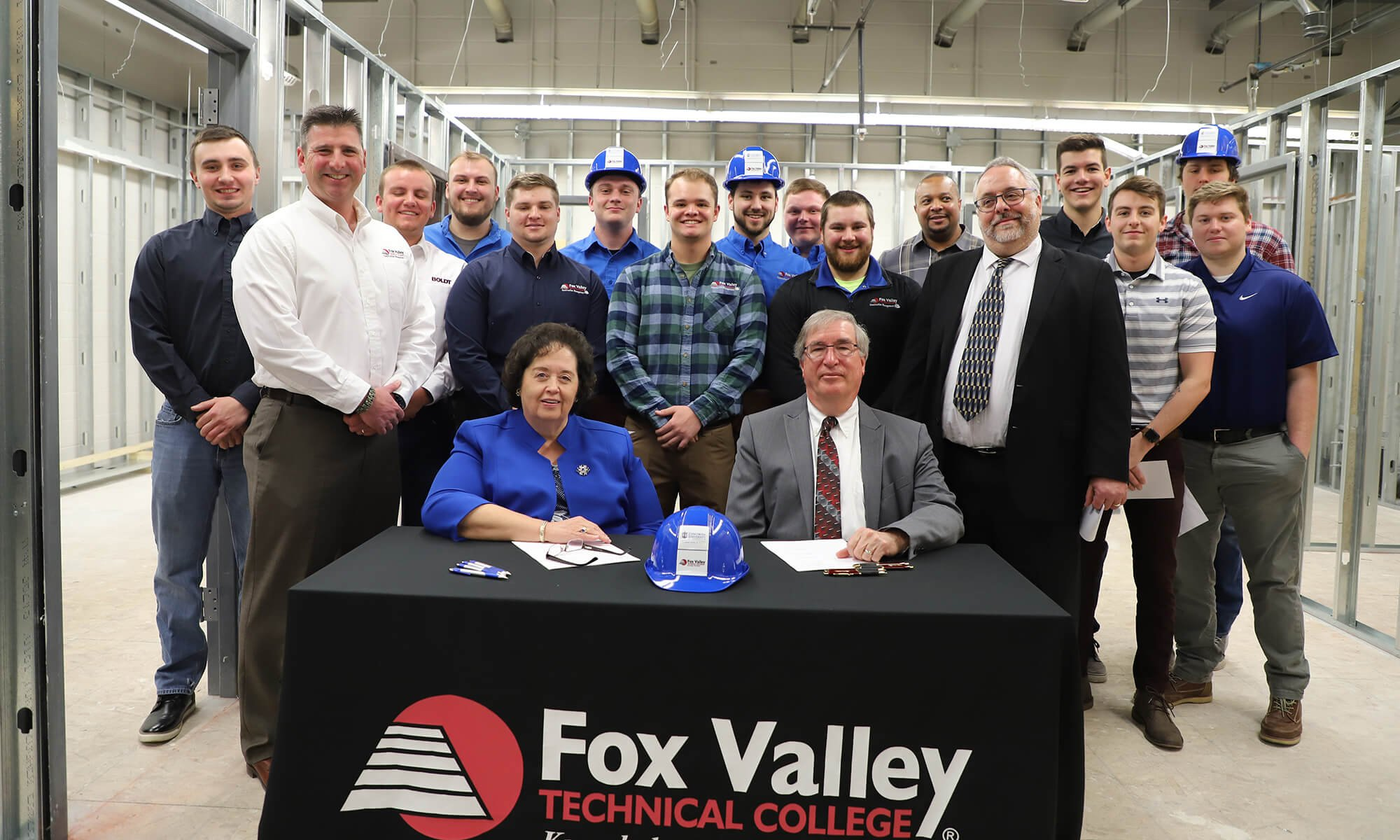 Concordia University Wisconsin and Fox Valley Technical College announce new partnership