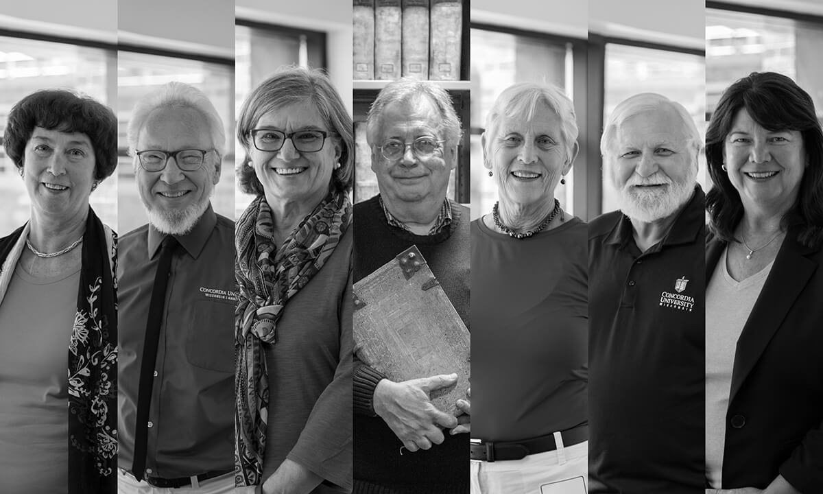 Concordia's 2018 faculty retirees