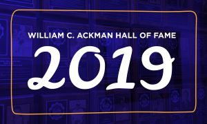 2019 William C. Ackmann Memorial Athletic Hall of Fame Inductees