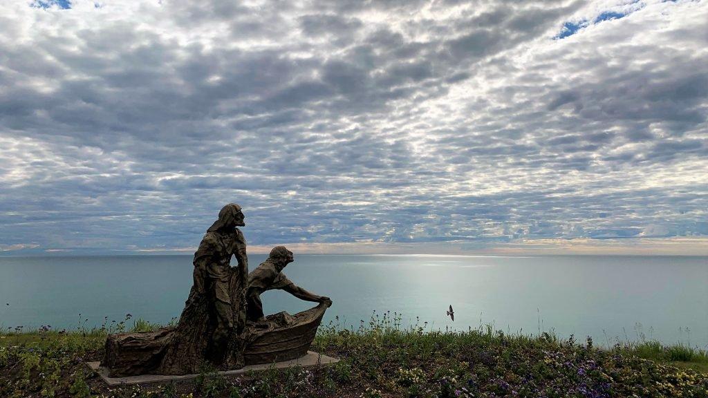 CUW Fishers of Men Statue