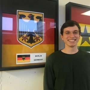Paul Meisner, from Germany, is one of Concordia's current international students.