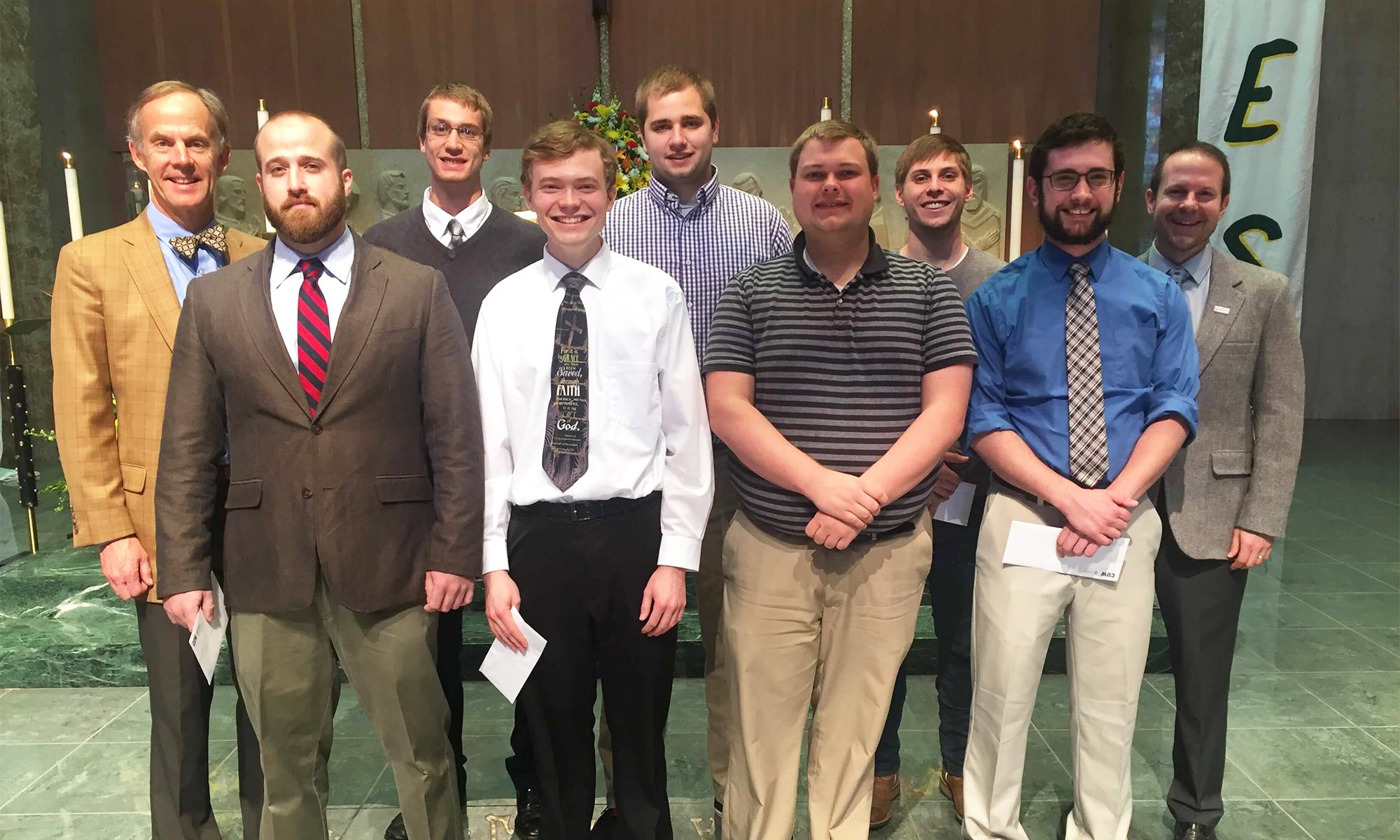 Concordia students receive inaugural award.