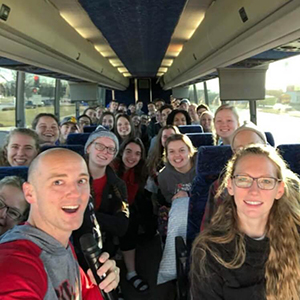 Bus trip to New Orleans mission trip