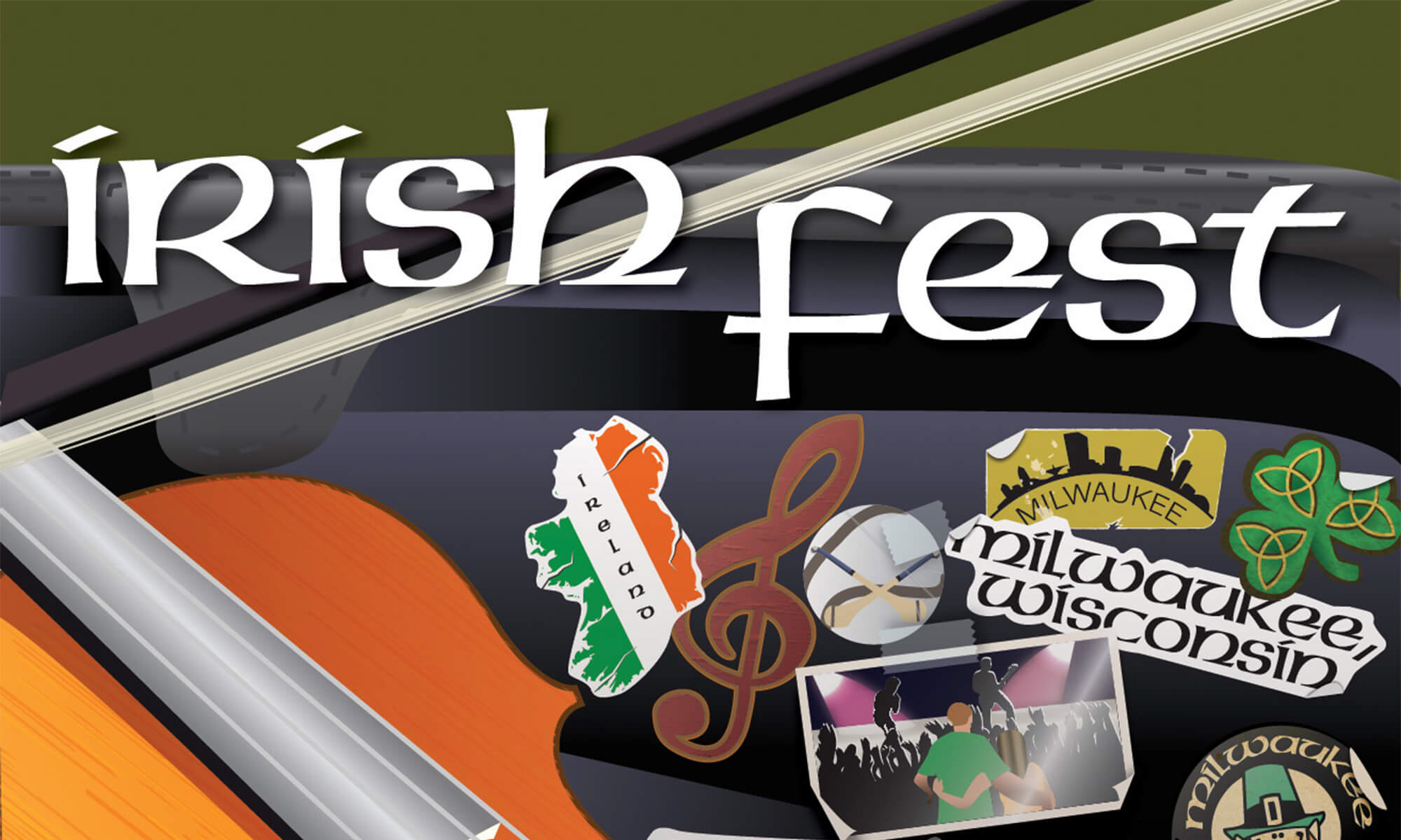 Milwaukee Irish Fest poster
