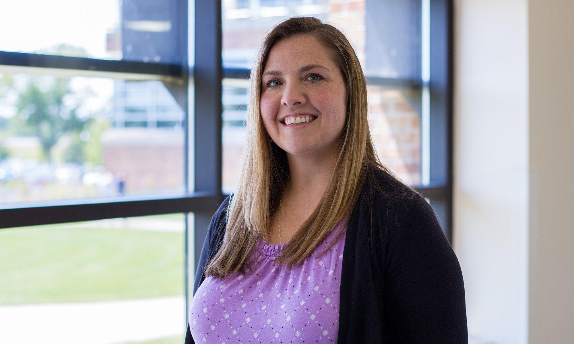 athletic training program director kate liesener faculty spotlight