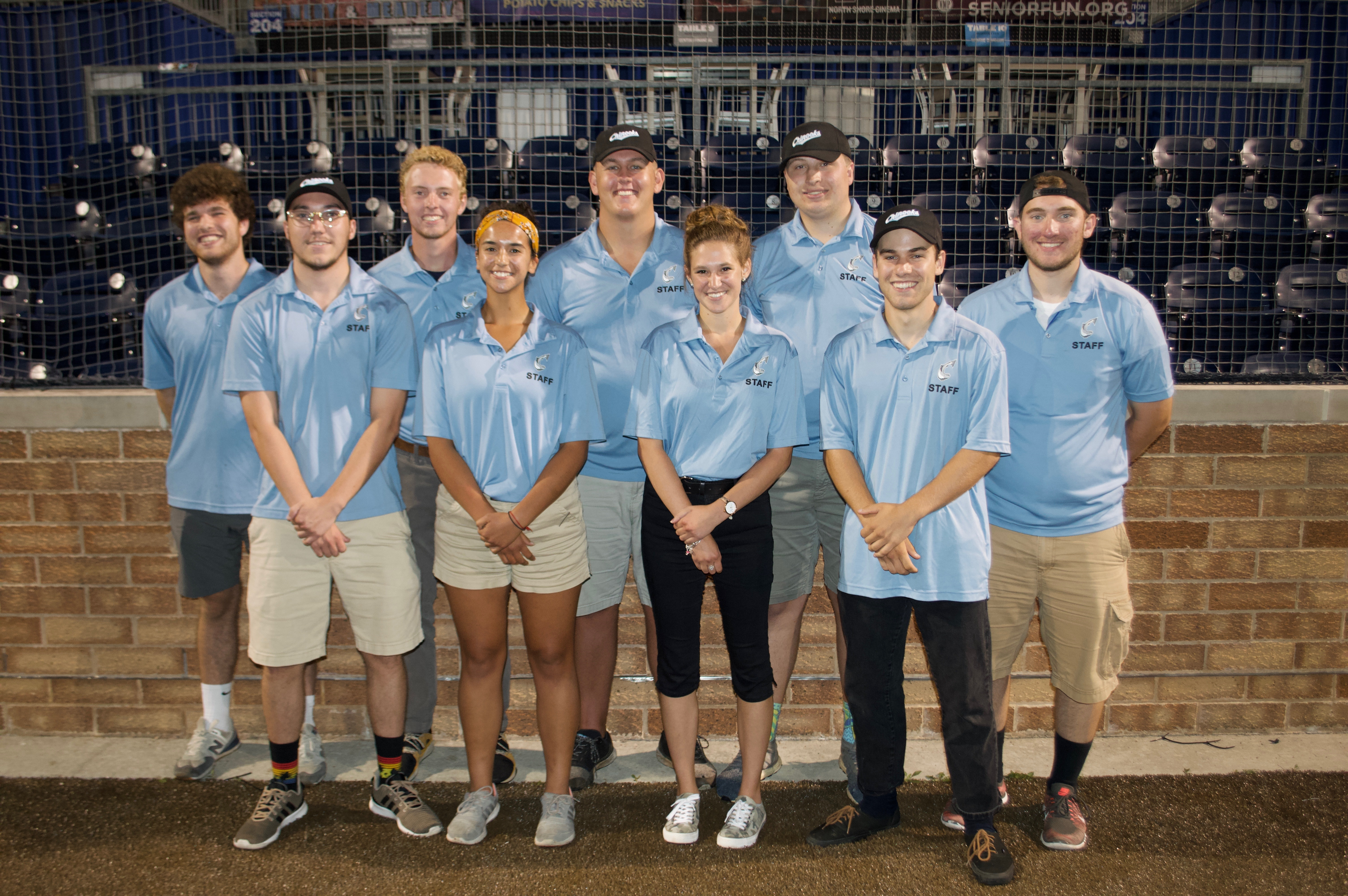 Picture of Lakeshore Chinooks media and video production interns