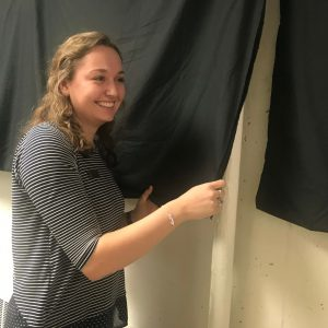 "Michelle Wolf, SGA chief academic officer, at the Feb. 6 flag hallway unveiling: ""It shows that little Concordia is leaving a global footprint all around the world."""