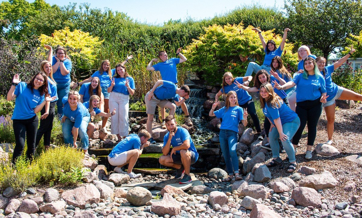 New Student Experience Team 2021