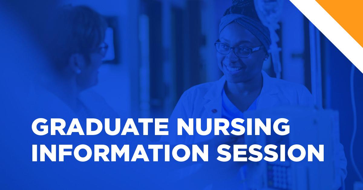 Grad nursing info session