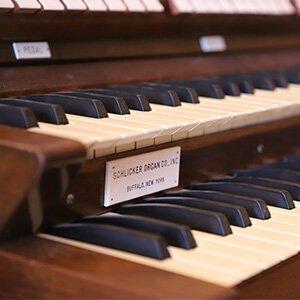 CUW's newest organ is a nine-rank Schlicker.