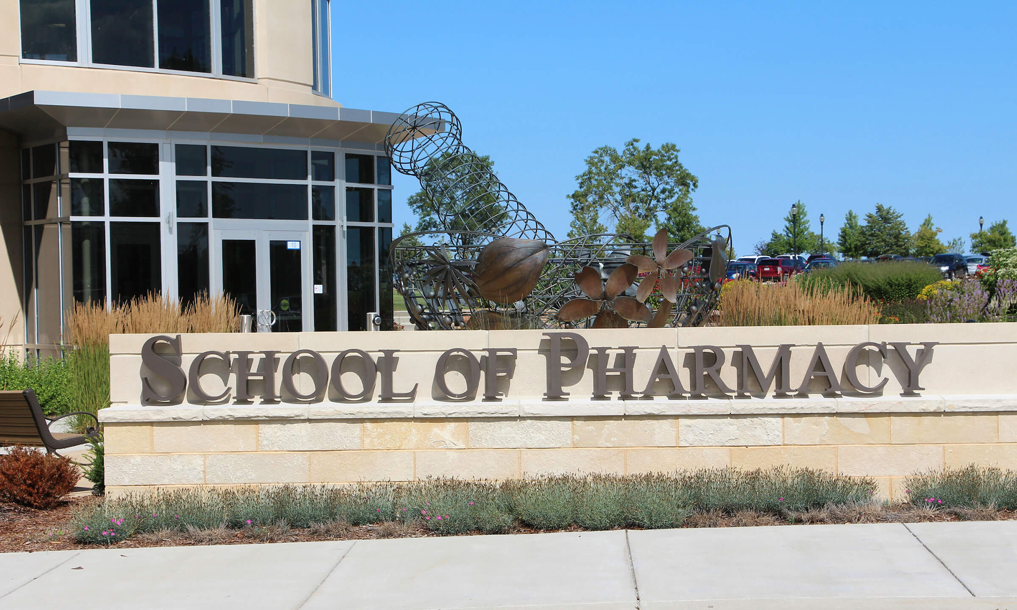 CUW's School of Pharmacy exterior