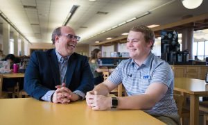 History repeats itself as CUW grad steps into father's first classroom