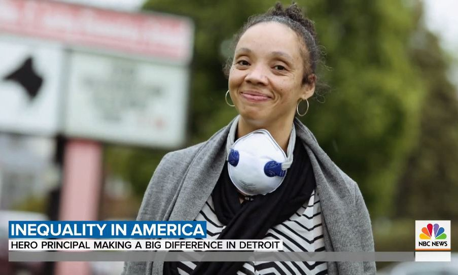 NBC TODAY: Concordia alum goes above and beyond for her students
