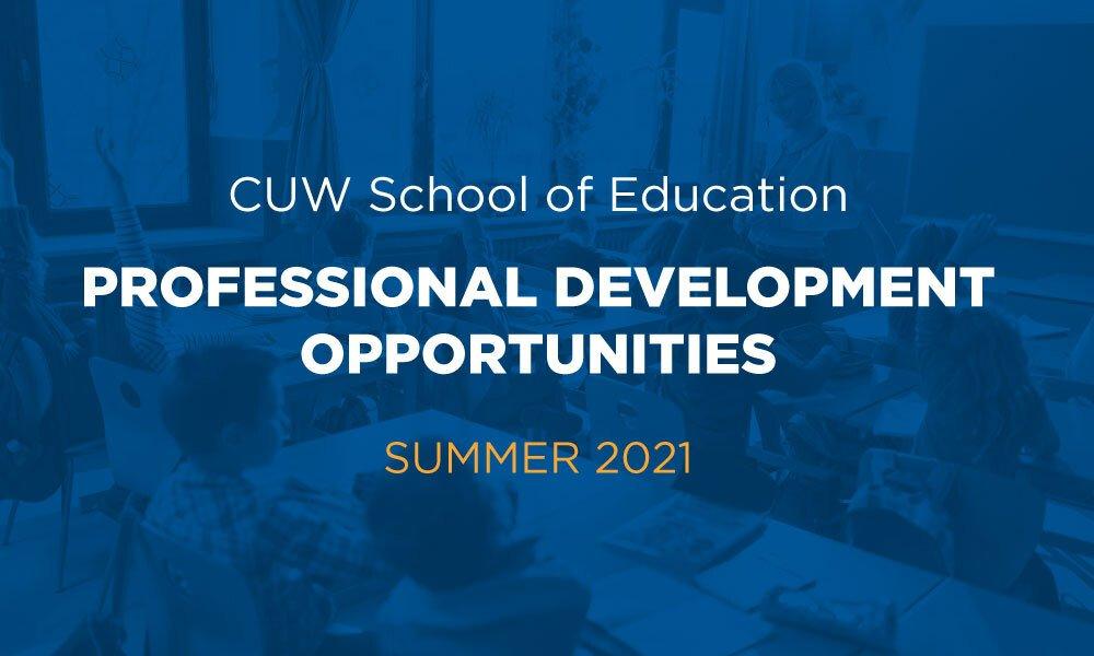 SOE Professional Development Opportunities