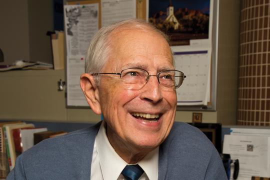 A 2014 photo of Dr. Saleska.