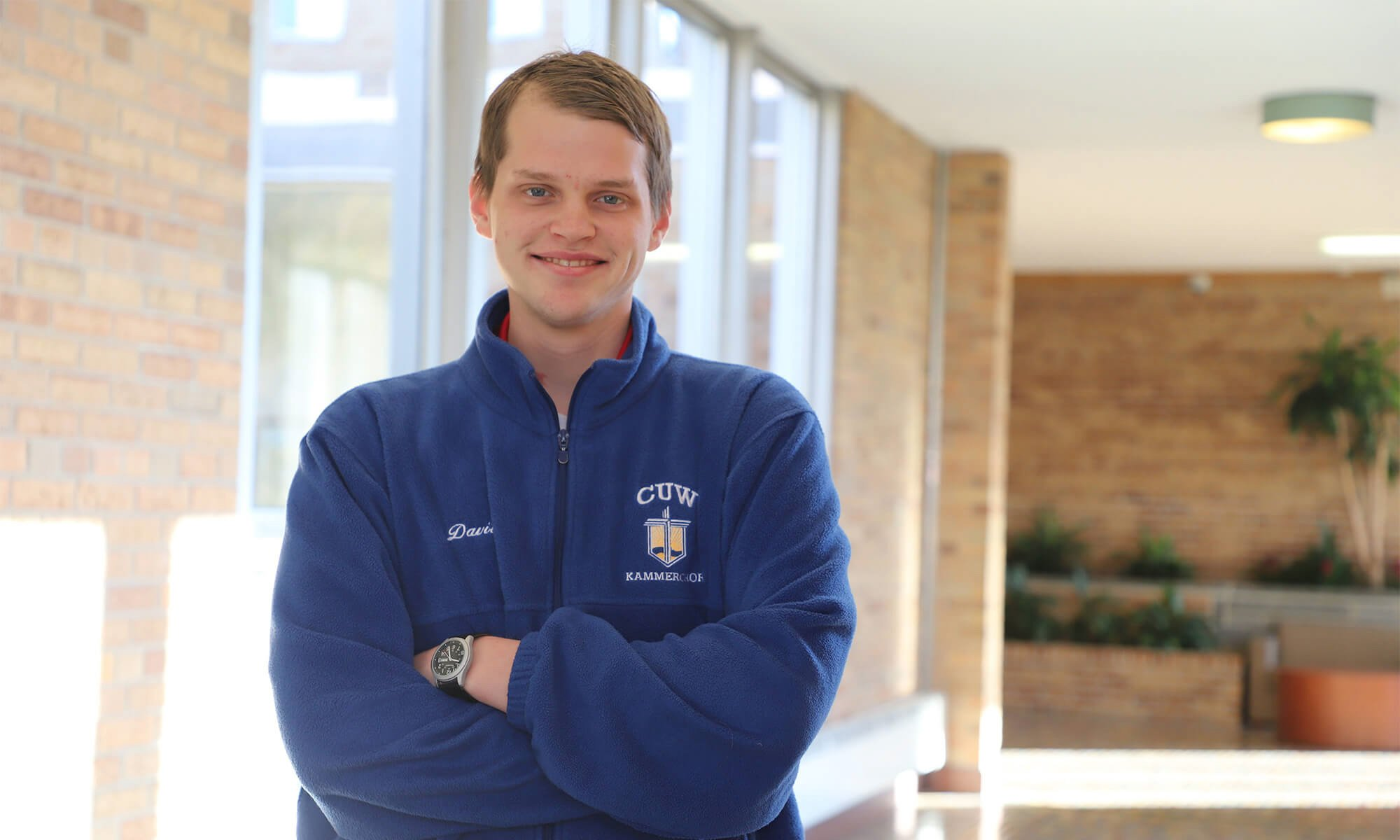 Concordia student David Schutte won the 2018 choral composition competition.