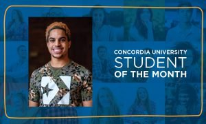 Ford named March Student of the Month