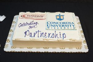 Concordia University Wisconsin and Gateway Technical College sign construction management agreement