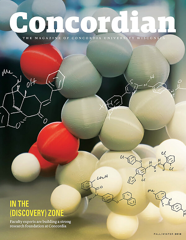 Concordian magazine cover fall 2018