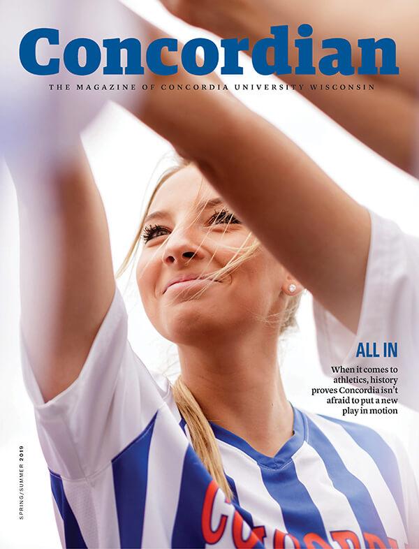 Concordian magazine cover spring 2019