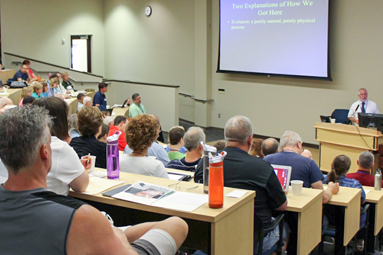 2013 Society of Creation conference at Concordia University Wisconsin.
