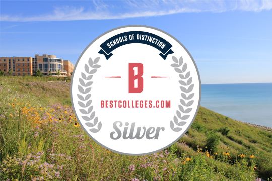 BestColleges.com has given silver medal status to CUW.