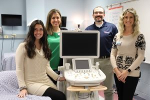 Concordia's hard-won ultrasound machine has arrived