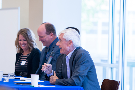 State Superintendent of Schools Dr. Tony Evers on Aug. 10th Graduate Education Summit panel held at Concordia.